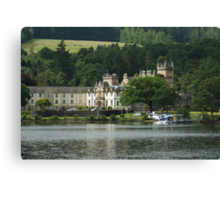 Cameron House Hotel & Country Club Loch Lomond & Seaplane Canvas Print