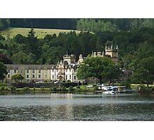 Cameron House Hotel & Country Club Loch Lomond & Seaplane Photographic Print