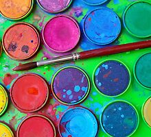 Watercolor Palette by ccaetano