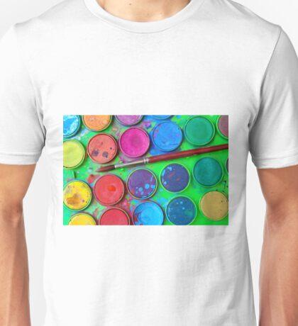 Watercolor Palette Unisex T-Shirt