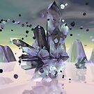 Spun Crystal by Kathy Nairn