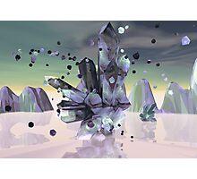 Spun Crystal Photographic Print