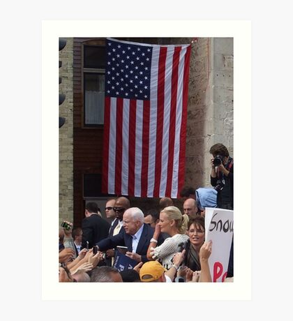 McCain - Palin Art Print