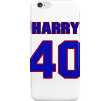 National football player Harry Colon jersey 40 iPhone Case/Skin