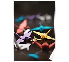 Bevy of Cranes Poster