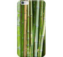 Bamboo Background iPhone Case/Skin