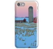 Evening on the Farm iPhone Case/Skin