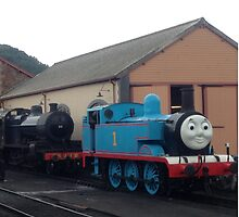 Blue One The Tank Engine by youmeus