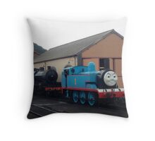 Blue One The Tank Engine Throw Pillow