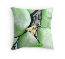 You're just above water, but... Throw Pillow