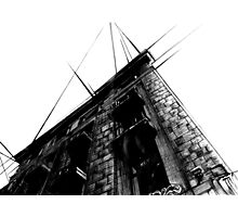 Architecture Sketch (Paint, Pen and Ink) Photographic Print