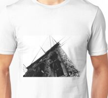 Architecture Sketch (Paint, Pen and Ink) Unisex T-Shirt