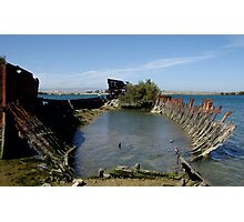 Ship's Graveyard,2 Photographic Print