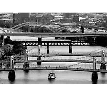 Bridges Galore Photographic Print