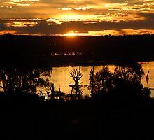 Sunset over Cobdogla Swamp by JimBob51