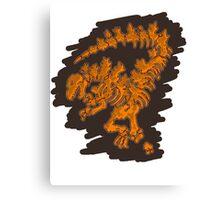 Godzilla Jurassic Canvas Print