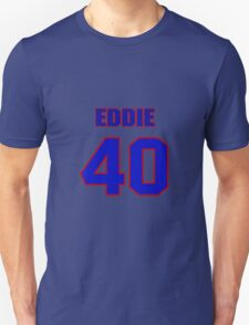 National football player Eddie Lee jersey 40 T-Shirt