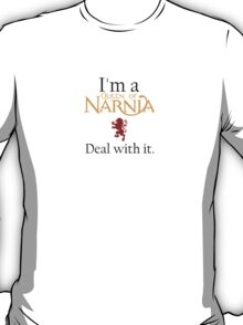 Deal with it: The Chronicles of Narnia T-Shirt