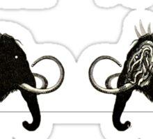 Prehistoric Punk Sticker