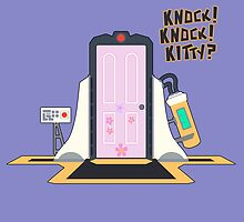 knock knock kitty?? by Cooleras