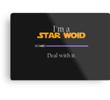 Deal with it: Star Wars Metal Print