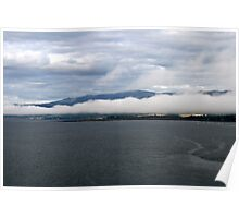 Cromarty Firth looking onto Ben Wyvis, NE Scotland. Poster