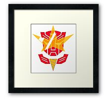 Optimus Lagann 2.0 Framed Print