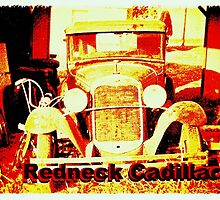 """Redneck Cadillac""... prints and products by © Bob Hall"