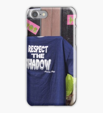 Respect the Shaodow iPhone Case/Skin