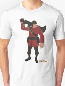 Team Fortress 2 | Minimalist Soldier T-Shirt