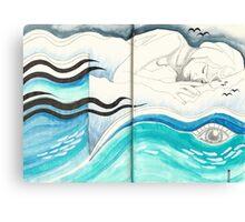 Sketchbook Jak, 94-95 Canvas Print