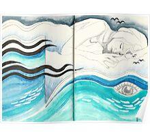 Sketchbook Jak, 94-95 Poster