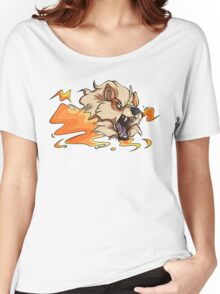 Pokemon Arcanine Women's Relaxed Fit T-Shirt