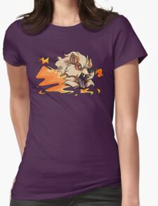 Pokemon Arcanine Womens Fitted T-Shirt