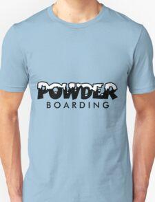 Powder Boarding Unisex T-Shirt