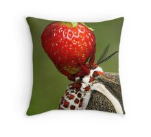 Eden's Fruit Throw Pillow