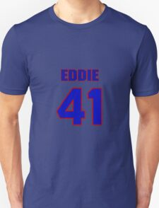 National football player Eddie Whitley jersey 41 T-Shirt