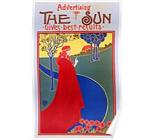 'The Sun' (Reproduction) Poster