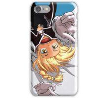 Edward Elric Flying Monkey iPhone Case/Skin