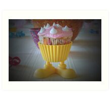 Mr. Cupcake Art Print