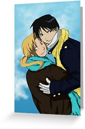 Edward Elric and Roy Mustang by KrisKenshin