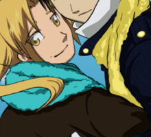 Edward Elric and Roy Mustang Sticker