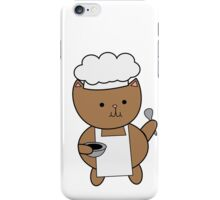 Chef Cat Kitty iPhone Case/Skin