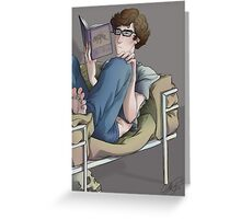 Reading Glasses & Bee Pollen Greeting Card