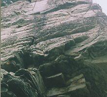 Love Strata, Pilot Mountain, North Carolina by Carolyn Andrews-Allred