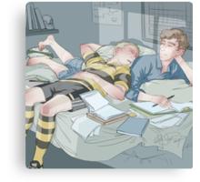 Test Day Canvas Print