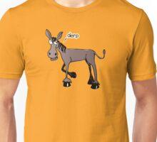 Derpy donkey Unisex T-Shirt