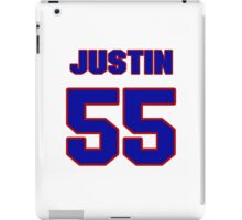 National football player Justin Rogers jersey 55 iPad Case/Skin