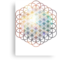 Heart of Orion Flower of Life | Sacred Geometry Canvas Print
