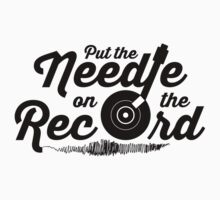 Pump Up The Volume - Put the Needle on the Record Kids Clothes